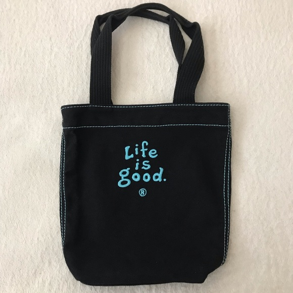 Life Is Good Handbags - Life is Good Small Tote Bag